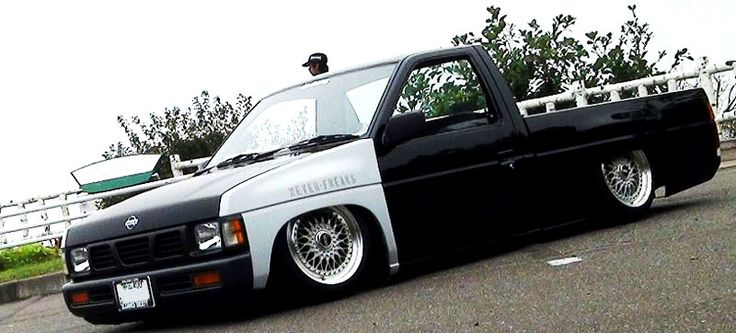Nissan Hardbody D21 on BBS RS Wheels