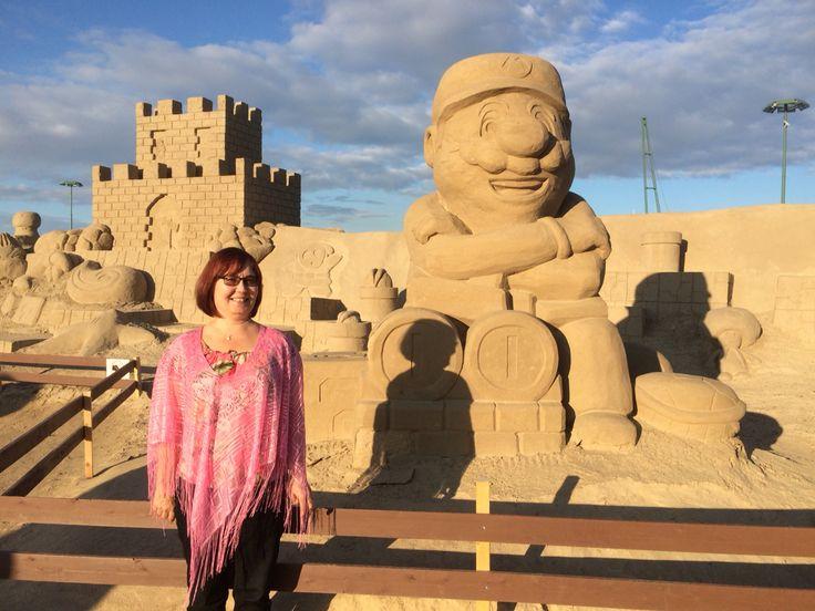 The Sand Castle in Lappeenranta.
