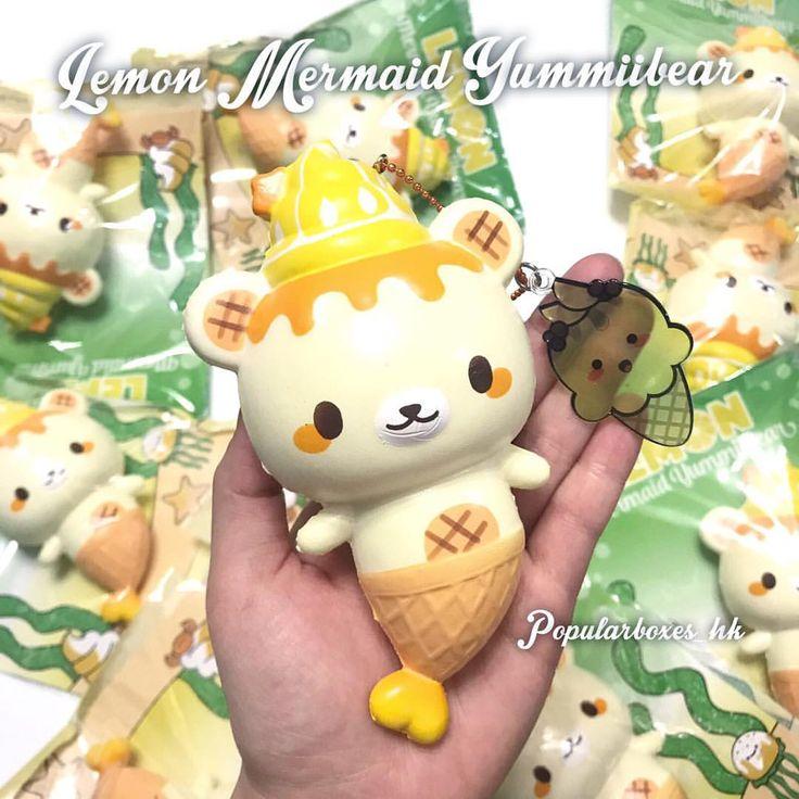 / Lemon  Mermaid Yummiibear  HKD$170 Wholesale available ☺️ #hksquishy #squishy #軟軟 #squishywholesale #squishyhk #squishyshop #squishystore #squishyhongkong