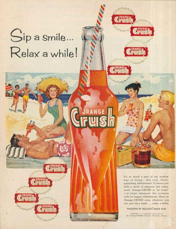 publicidades antiguas de bebidas - Buscar con Google