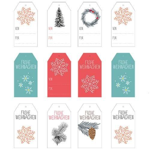 die besten 25 weihnachts etiketten zum ausdrucken ideen auf pinterest basteln weihnachten zum. Black Bedroom Furniture Sets. Home Design Ideas