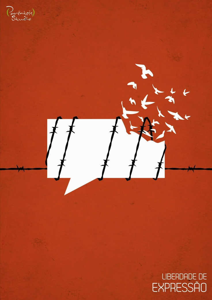 freedom of expression | Visual metaphor, Creative posters ... |Freedom Of Speech Poster Ideas