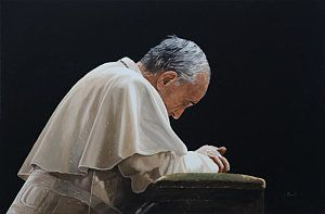 Painting - Francesco by Guido Borelli