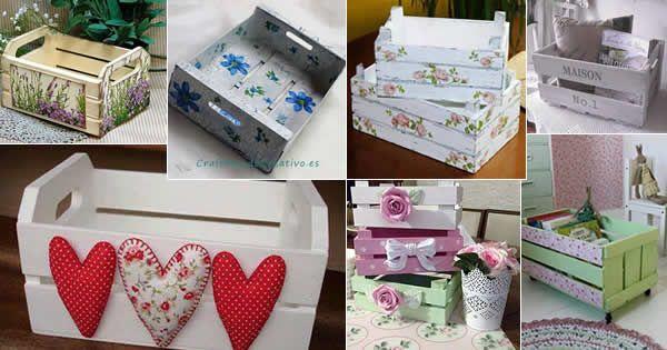 Aprenda o passo a passo básico para criar lindos caixotes decorados!