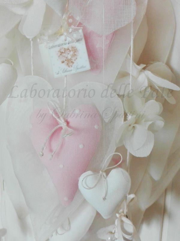 Nuovo arrivo nel Laboratorio delle Fate! Il prezioso fiocco nascita per la piccola Principessa in arrivo...                      Fiocco Nas...