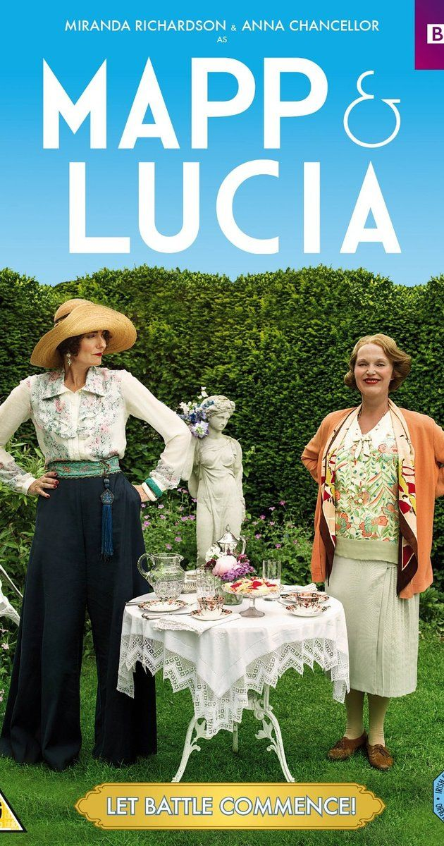 With Miranda Richardson, Anna Chancellor, Poppy Miller, Felicity Montagu. The social rivalry between two women in the 1930s when Lucia rents Mapp's house for the summer.