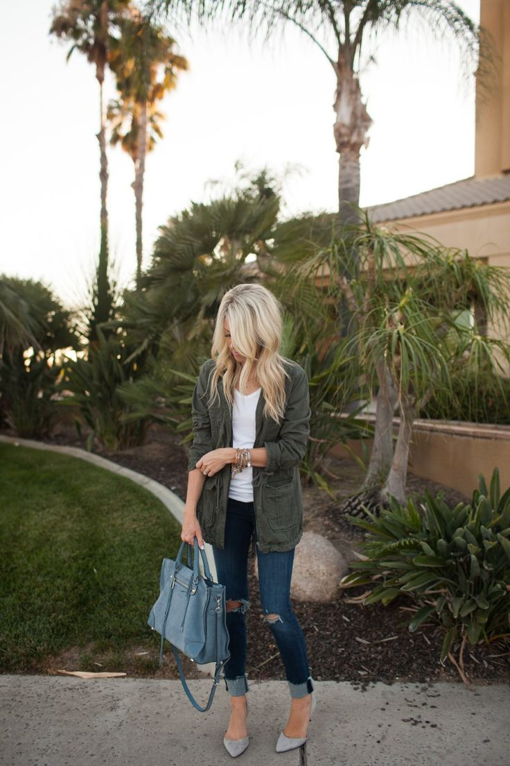 Perfect Jacket for Fall - Kailee Wright