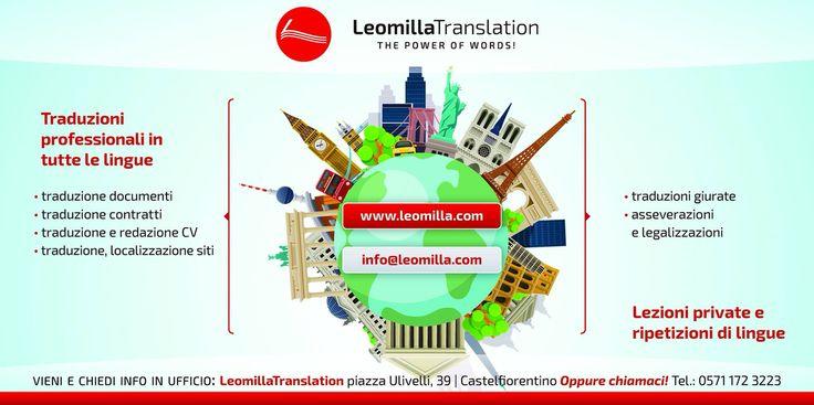 Traduzioni e lezioni di lingue