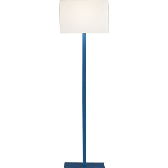 john peacock blue floor lamp in floor lamps | CB2