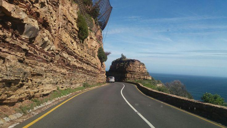 Breathtaking views from Chapmans Peak