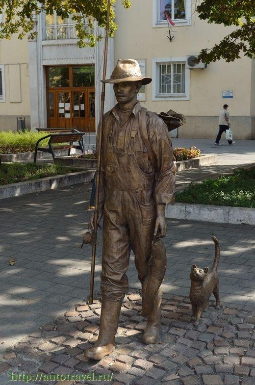 Fisherman. Szolnok. Hungary