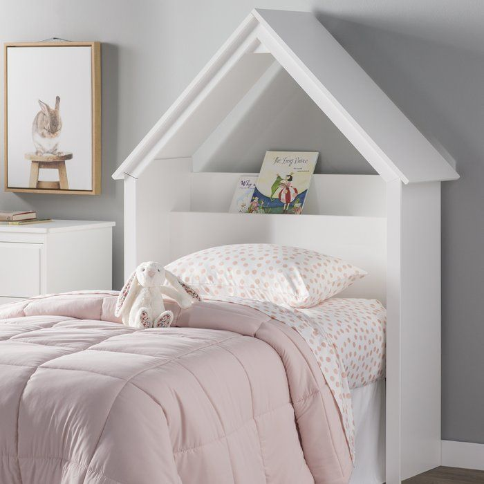 Celli Playhouse Twin Bookcase Headboard Bed Frame And Headboard