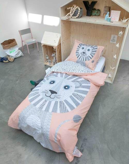 Covers & Co Tibby Pfirsich Baumwolle Bettbezug 2 Größen - Wonen met LEF!