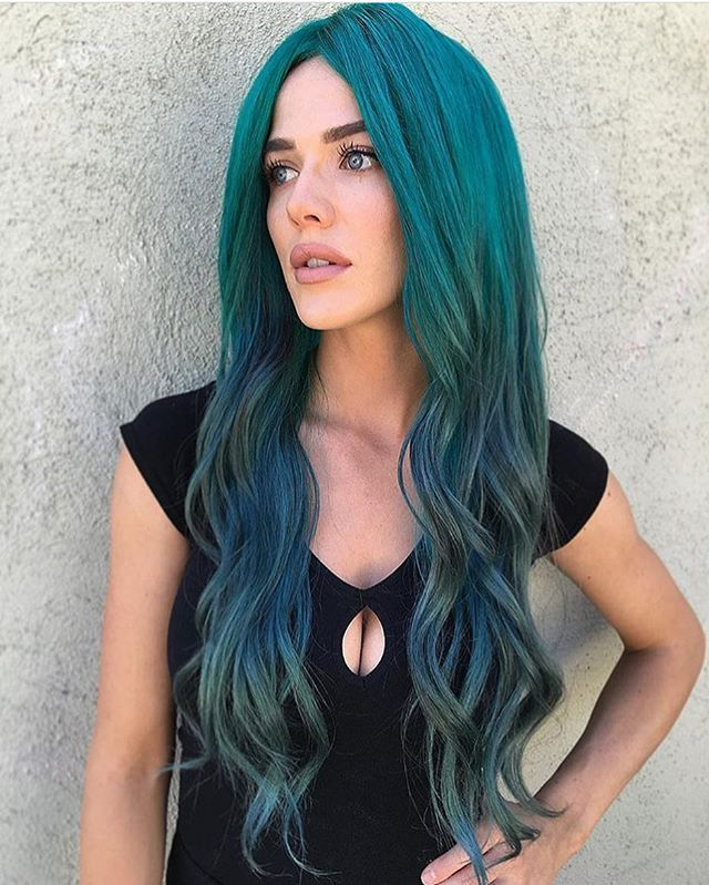 Pin On Extreme Hair Colors