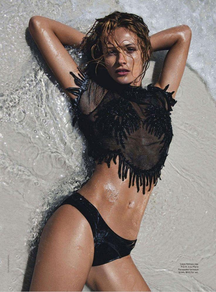 visual optimism; fashion editorials, shows, campaigns & more!: splash out: edita vilkeviciute by gilles bensimon for vogue australia june 20...