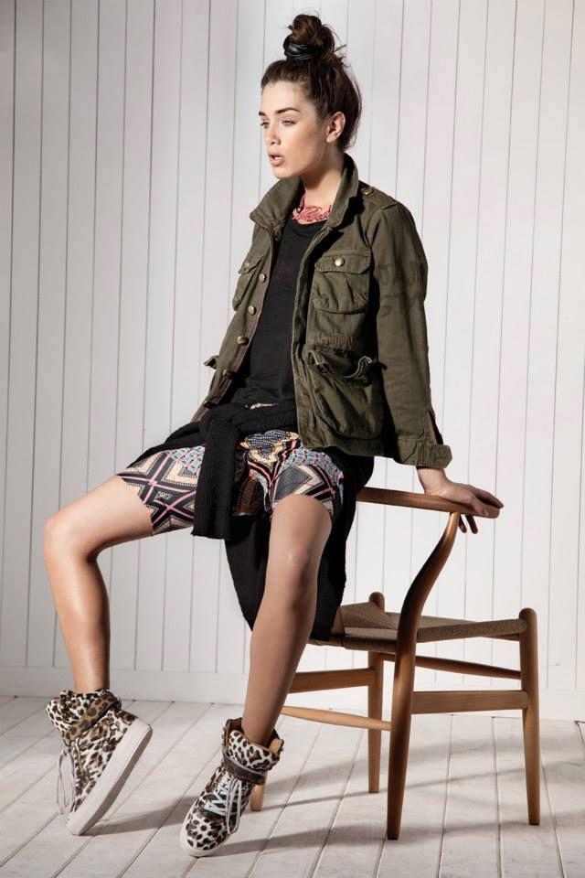 Virginia Barbera. Maria Cher lookbook verano 2015