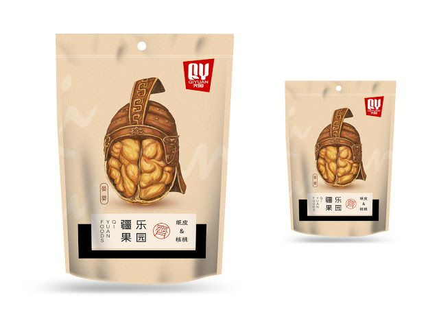 Qi Yuan Nuts on Packaging of the World - Creative Package Design Gallery