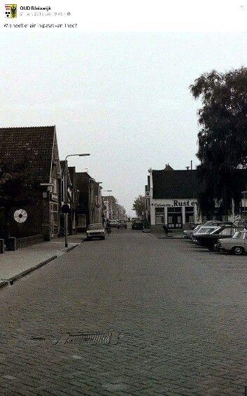 Bleiswijk Dorpstraat de oude patatzaak.