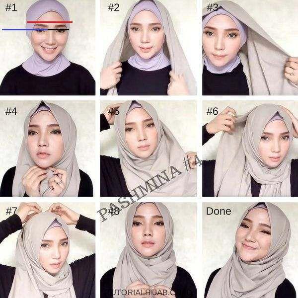 Tutorial Hijab Cosplay Anime