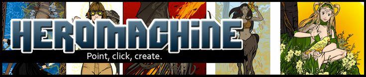 HeroMachine 2.5 | HeroMachine Comics Blog  Generate your own superhero