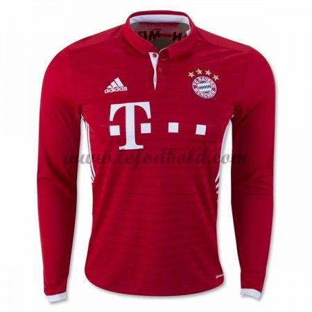 bayern munich home long sleeve shirt 2016 2017 discount football shirts cheap soccer jerseys