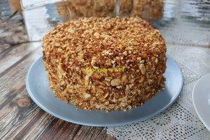 Mocha Peanut Nougat Cake Recipe/ Resep Mocha Nougat Cake/ 摩卡花生蛋糕 • Luksunshine
