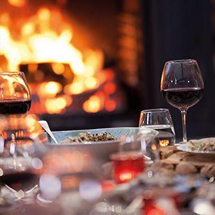 Fireside entertaining
