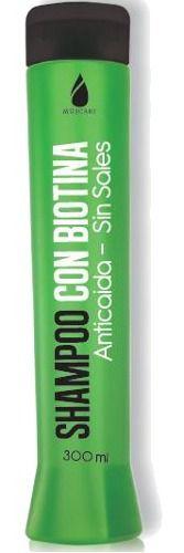 shampoo con biotina anti caída, sin sales - muscari