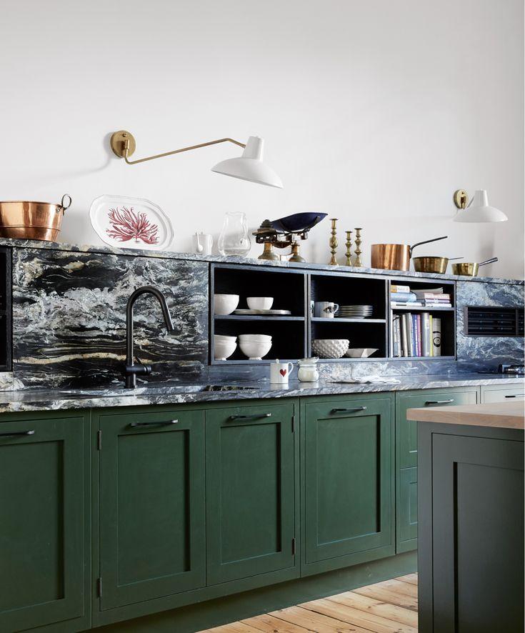 pin by meredyth gravely owen on kitchen co interior design kitchen green kitchen cabinets on kitchen interior green id=94764