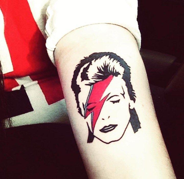 ber ideen zu bowie tattoo auf pinterest david