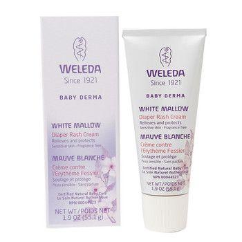 Weleda White Mallow Diaper Rash Cream (1x1.9 OZ)