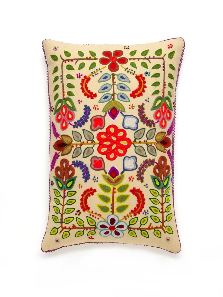 Folkish pillow.