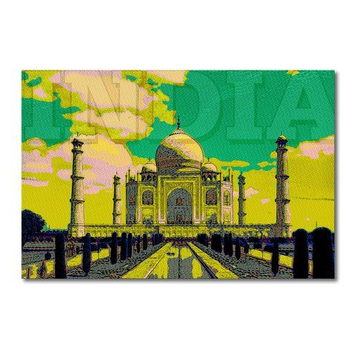 Found it at Wayfair.co.uk - Taj Mahal Graphic Art on Canvas