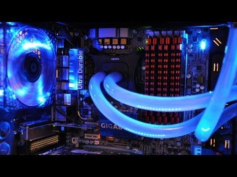 Concepts - Using water to cool computers rather then traditional fans