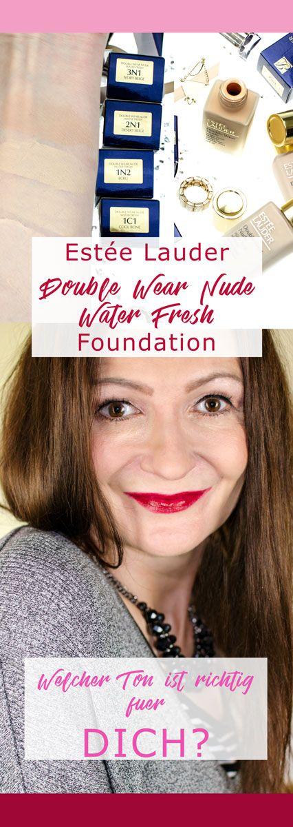Wie findet man den perfekten Foundation Farbton? Erfahrt mehr darüber und über as neue Estée Lauder Double Wear Nude Water Fresh Makeup - eine Lightweight Foundation, die in 32 Farbtönen in Deutschland online erhältlich ist. Gewinne deine persönliche Traum-Farbe!