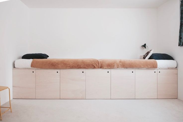 plywood bed