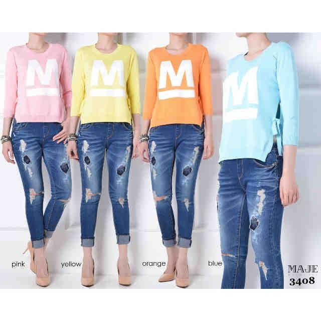 Saya menjual MAJE 3408 Atasan Wanita / Baju Hangat / Sweater seharga Rp180.000. Dapatkan produk ini hanya di Shopee! https://shopee.co.id/image_boutique/209448684/ #ShopeeID