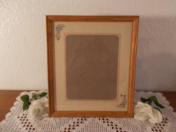 237.22 kr. Large Vintage Wood Picture Frame Rustic Wedding by ElegantSeashore