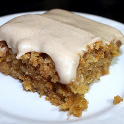 Gooey Cinnamon Carrot Poke Cake | Recipes | Pinterest