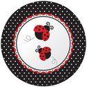 Ladybug Fancy 10 Banquet Plates