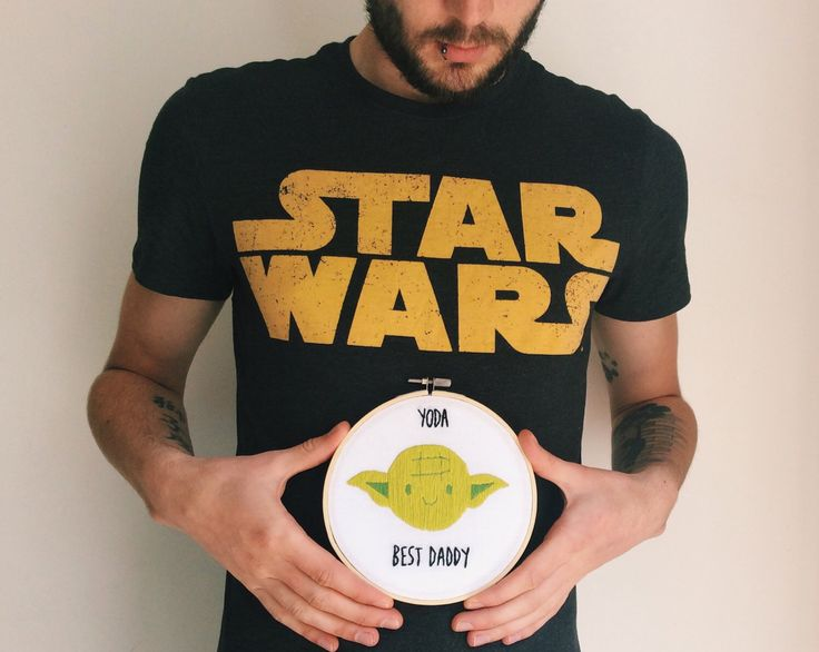 A personal favourite from my Etsy shop https://www.etsy.com/uk/listing/293760907/yoda-best-daddy-star-wars-fan-pun
