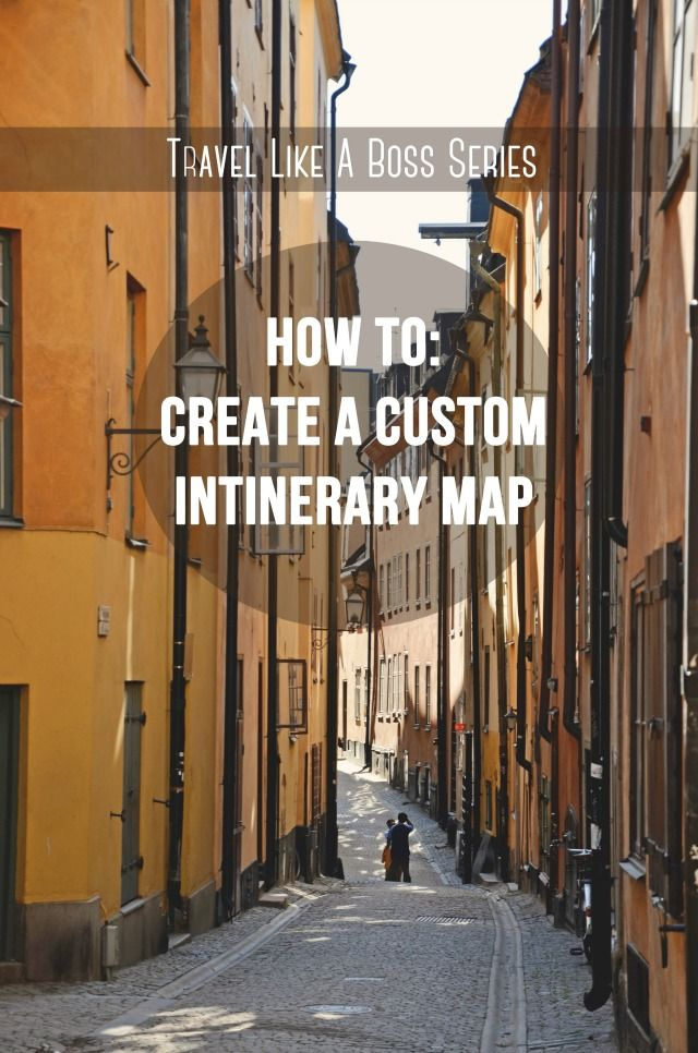 How to Create a Custom Itinerary Map with the New Google Maps