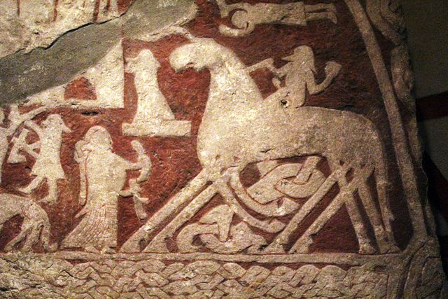 Fuck Yeah Vikings & Celts! : Odin riding Sleipnir