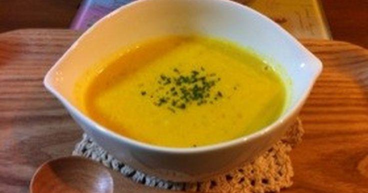 ミキサー不要☆簡単!牛乳でかぼちゃスープ by 陽だまり日記 [クックパッド] 簡単おいしいみんなのレシピが248万品