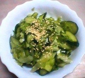 もう一品!簡単韓流レタスサラダ