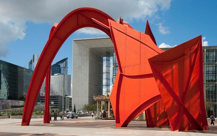 Calder, La Defense, Paris