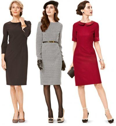 shift dress patterns   Shift Dress Pattern Versatile pattern summer or winter
