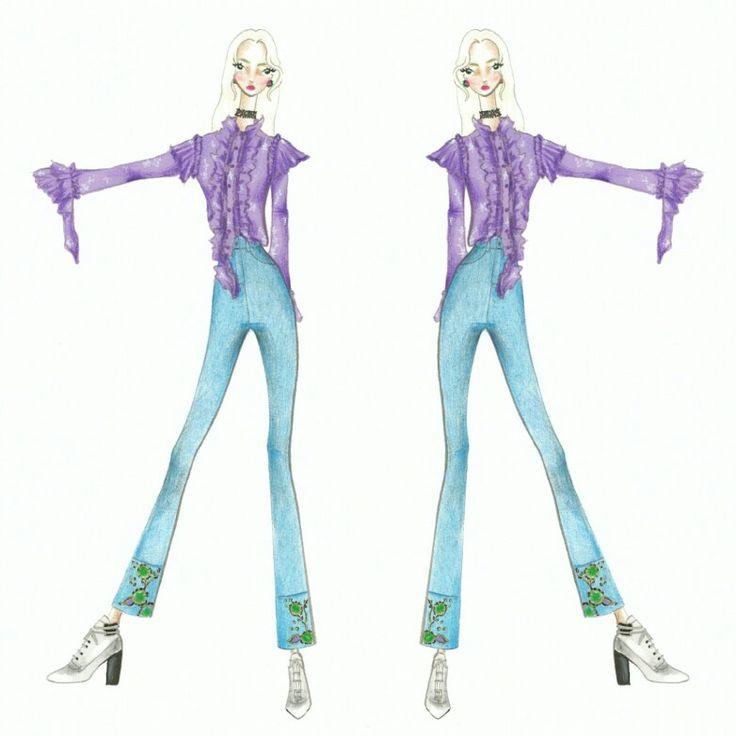 Wonderland (11)  Fashion sketch