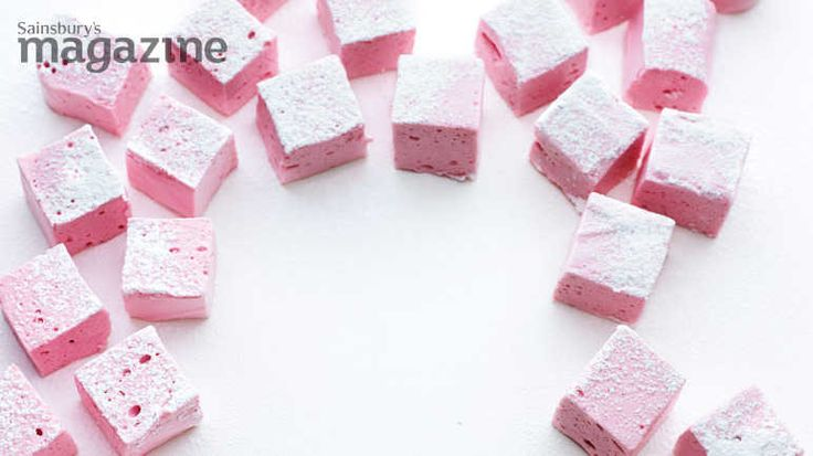 Raspberry and champagne marshmallow image
