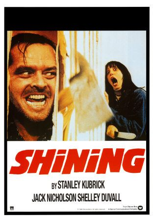 The Shining.   Click to buy this Movie Poster!